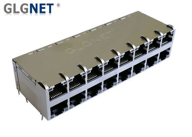 China Industrial Switcher Poe RJ45 Connector With Integrated Magnetics supplier