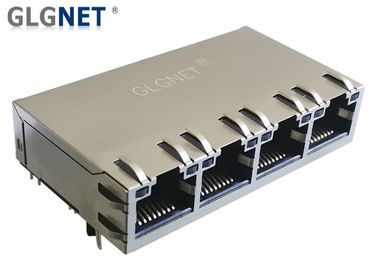 China 1000BASE T POE Rj45 Connector supplier