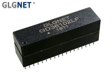 Discrete LAN Isolation Transformer 36 PIN 1000 Base -T Through Hole Mounting For Switches