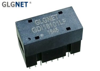 1G Through Hole Ethernet Magnetic Transformer Wave Soldering 18 Pins In 2 Rows