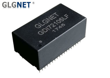 Through Hole Mounting Ethernet Lan Transformer 72 Pin For 1G Ethernet Full Quad Port
