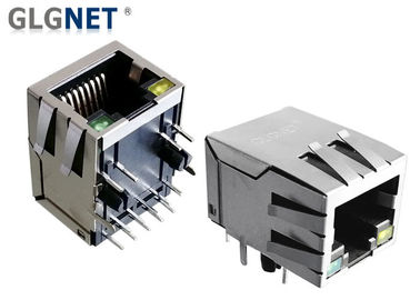 Tab Down RJ45 Modular Jack Through Hole Mount Comply With RoHS Requirements